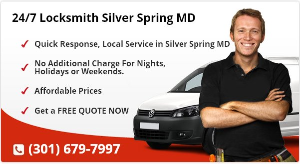 24 Hour Locksmith Silver Spring MD